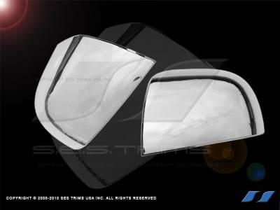 SES Trim - Hyundai Santa Fe SES Trim ABS Chrome Mirror Cover - MC151