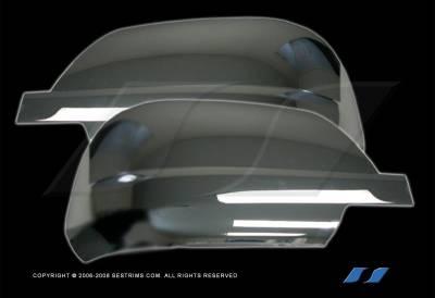 SES Trim - Toyota Tundra SES Trim ABS Chrome Mirror Cover - MC177