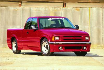 Xenon - Chevrolet S10 Xenon Air Dam - 5501