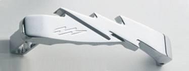 All Sales - All Sales Chrome Billet Door Handle Replacements - Lightning Handle Kit - 473C