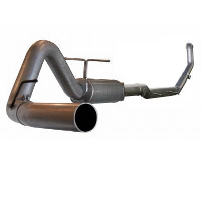 aFe - Ford F350 aFe Large Bore HD Turbo-Back Exhaust System Aluminum - 49-13001