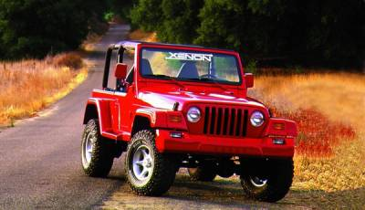 Xenon - Jeep Wrangler Xenon Front Bumper Cover - 8305