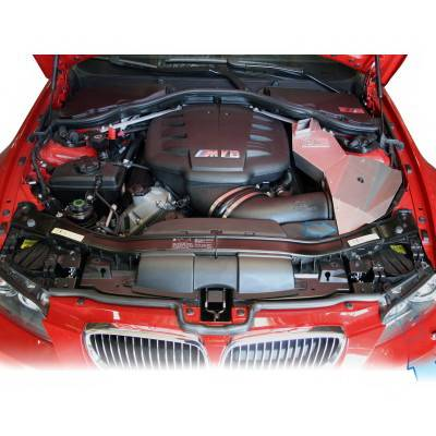 aFe - BMW 3 Series aFe MagnumForce Pro-5R Stage 2 Air Intake System - Brushed Aluminum - 50-11662-C
