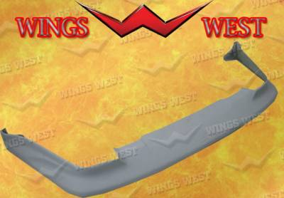 Wings West - Nissan 300Z Wings West Front Air Dam - Fiberglass - 49077