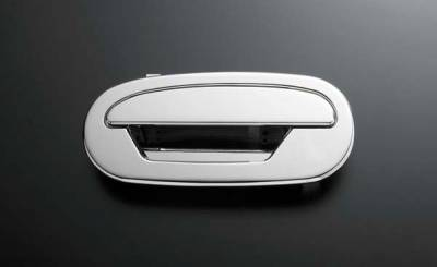 All Sales - All Sales Chrome Billet Door Handle Replacements - Left and Right Side without Lock - 502C