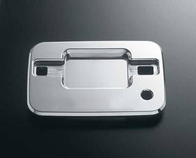 All Sales - All Sales Chrome Billet Door Bucket Handles - Left and Right Side with Lock - 506C