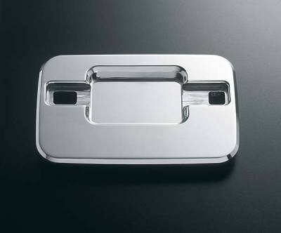All Sales - All Sales Chrome Billet Door Bucket Handles - Left and Right Side without Lock - 508C