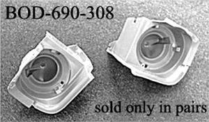 CPC - Ford Mustang CPC Headlight Bucket - BOD-690-308