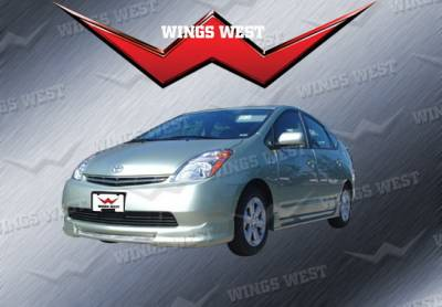 Wings West - Toyota Prius Wings West W-Type Front Air Dam - 490227