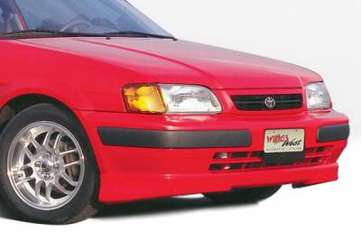 Wings West - Toyota Tercel Wings West M-Type Front Air Dam - 890031