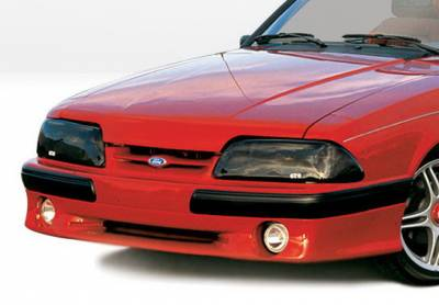 Wings West - Ford Mustang Wings West Cobra Style Front Air Dam - 890102