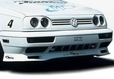 Wings West - Volkswagen Jetta Wings West Custom Style Front Air Dam - 890108