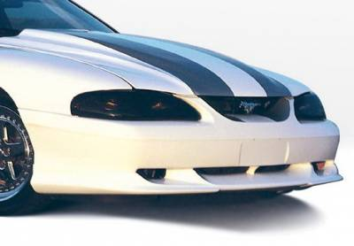 Wings West - Ford Mustang Wings West Custom Style Front Air Dam - 890110