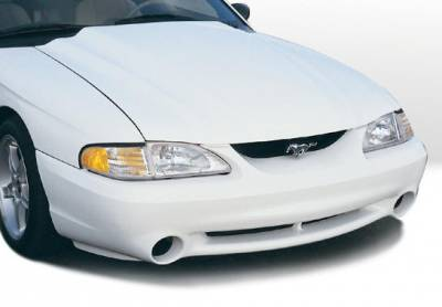 VIS Racing - Ford Mustang VIS Racing OEM Cobra Style Front Bumper Cover - 890114