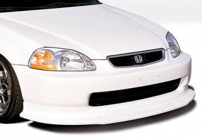 VIS Racing - Honda Civic VIS Racing Touring Style Front Lip - Polyurethane - 890134