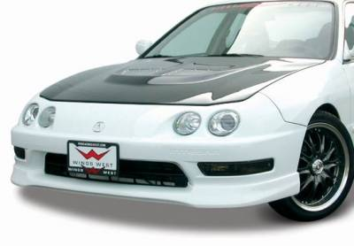 VIS Racing - Acura Integra VIS Racing Type-R Front Lip - Polyurethane - 890152