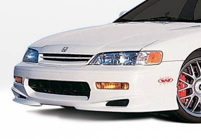 Wings West - Honda Accord Wings West W-Type Front Air Dam - 890266