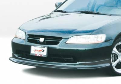 VIS Racing - Honda Accord 4DR VIS Racing Touring Style Front Lip - Polyurethane - 890271