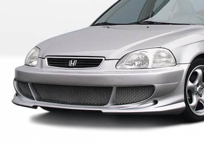 VIS Racing - Honda Civic VIS Racing Bigmouth Front Bumper Cover - 890307