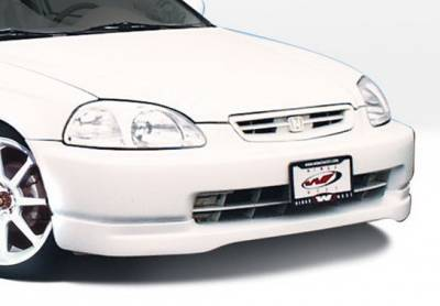 Wings West - Honda Civic Wings West Type R Front Air Dam - 890362