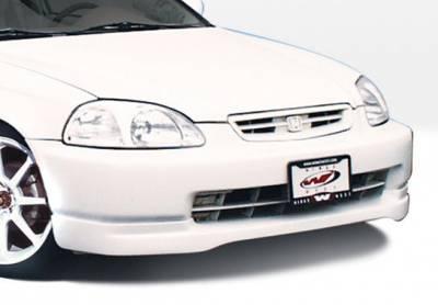 VIS Racing - Honda Civic VIS Racing Type-R Front Lip - Polyurethane - 890363