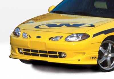VIS Racing - Ford ZX2 VIS Racing W-Type Front Lip - Polyurethane - 890378