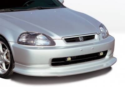 VIS Racing - Honda Civic VIS Racing Touring Style Front Lip - Polyurethane - 890387