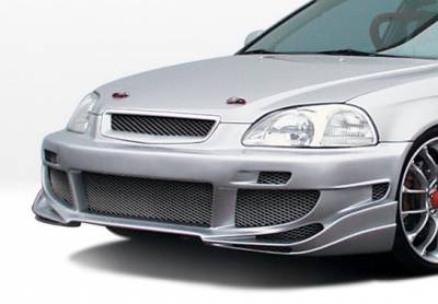 VIS Racing - Honda Civic VIS Racing Avenger Front Bumper Cover - 890393