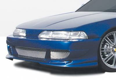 Wings West - Acura Integra Wings West Bigmouth Front Bumper Cover - 890403