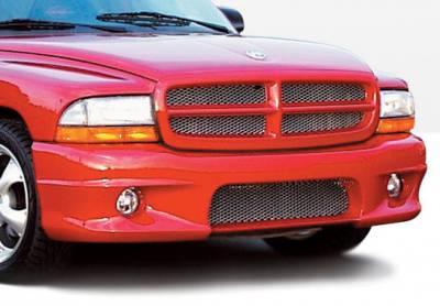 VIS Racing - Dodge Dakota VIS Racing W-Type Front Bumper Cover - 890420