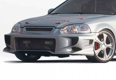 VIS Racing - Honda Civic VIS Racing Aggressor Type 2 Front Bumper Cover - 890433
