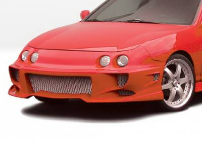 Wings West - Acura Integra Wings West Aggressor Type II Front Bumper Cover - 890472