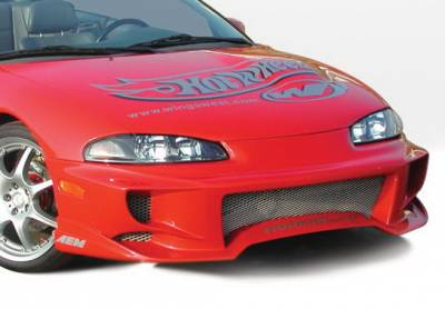 Wings West - Mitsubishi Eclipse Wings West Aggressor Front Bumper Cover - 890480