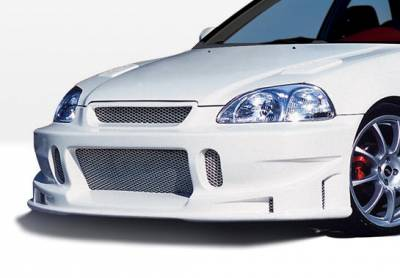VIS Racing - Honda Civic VIS Racing Tuner Type I Front Bumper Cover - 890501