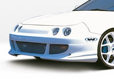 Wings West - Acura Integra Wings West Bigmouth Front Bumper Cover - 890505