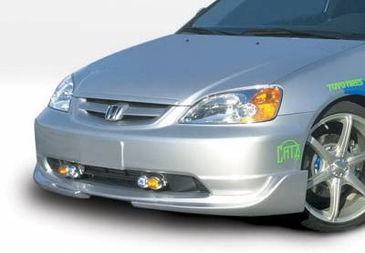 Wings West - Honda Civic 2DR & 4DR Wings West G5 Series Front Air Dam - 890516