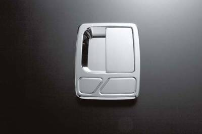 All Sales - All Sales Chrome Billet Door Handle Replacements - Left and Right Side without Lock - 512C