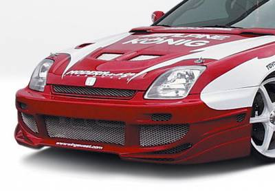 Wings West - Honda Prelude Wings West Avenger Front Bumper Cover - 890545