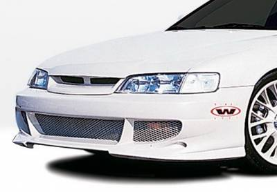 Wings West - Honda Accord Wings West Bigmouth Front Bumper Cover - 890567