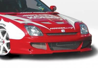 VIS Racing - Honda Prelude VIS Racing Bigmouth Front Bumper Cover - 890599