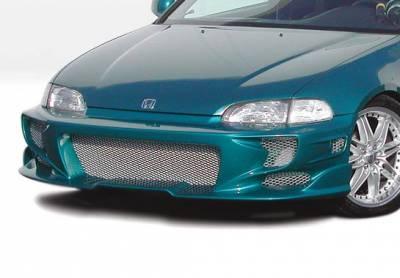 VIS Racing - Honda Civic 2DR & Hatchback VIS Racing Revolver Front Bumper Cover - 890635