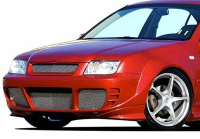 Wings West - Volkswagen Jetta Wings West J-Spec Front Bumper Cover - 890761