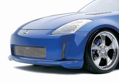 VIS Racing - Nissan 350Z VIS Racing Z-Spec Front Lip - Polyurethane - 890778