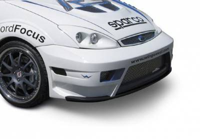 Wings West - Ford Focus Wings West WRC Style Front Bumper - 890840