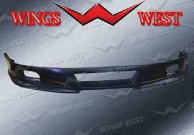 VIS Racing - Honda Accord 2DR VIS Racing Custom Front Lip - Polyurethane - 890901