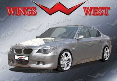 VIS Racing - BMW 5 Series VIS Racing VIP Front Lip - Polyurethane - 890920