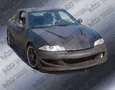 VIS Racing - Chevrolet Cavalier VIS Racing Xtreme GT Front Bumper - 00CHCAV2DXGT-001