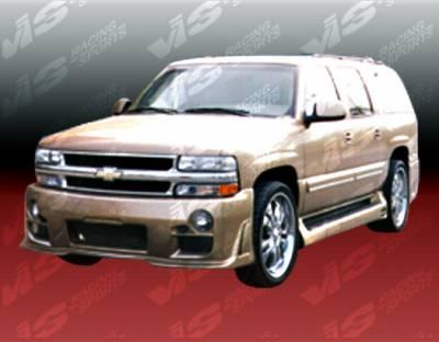 VIS Racing. - Chevrolet Suburban VIS Racing Outcast Front Bumper - 00CHSUB4DOC-001