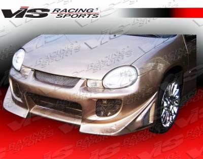 VIS Racing - Dodge Neon 4DR VIS Racing Battle Z Front Bumper - 00DGNEO4DBZ-001