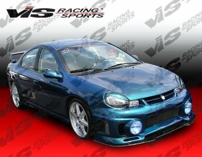 VIS Racing - Dodge Neon 4DR VIS Racing EVO Front Bumper - 00DGNEO4DEVO-001